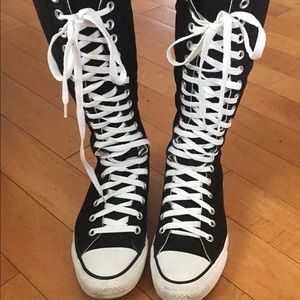 Converse extreme high tops women- size 7